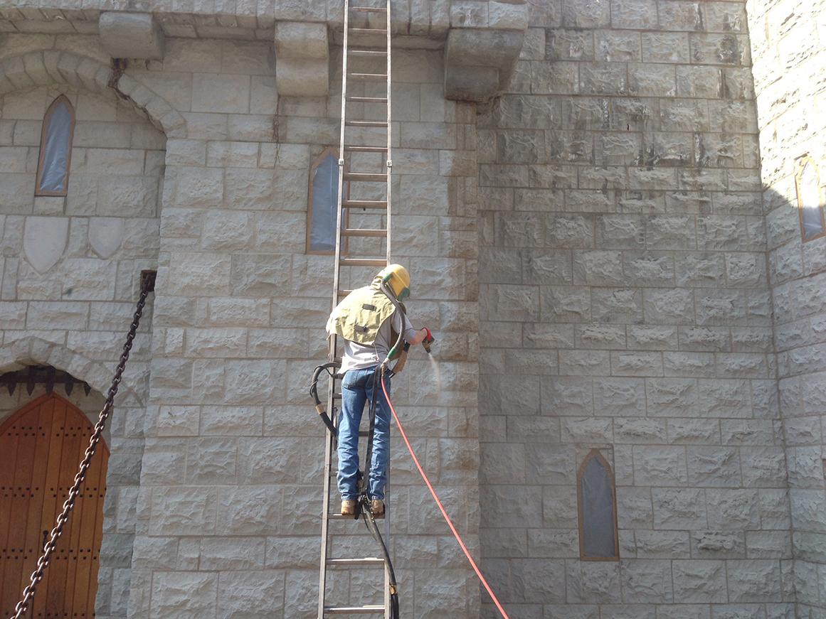 Sandblasting American Restoration